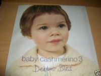 DEBBIE BLISS Baby Cashmerino Book 3 - 14 DESIGNS